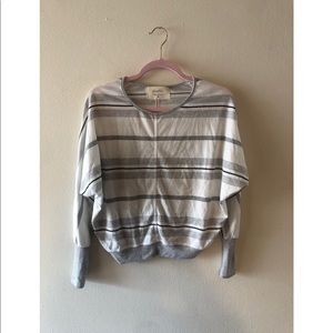 Anthropologie Striped Long Sleeve Shirt